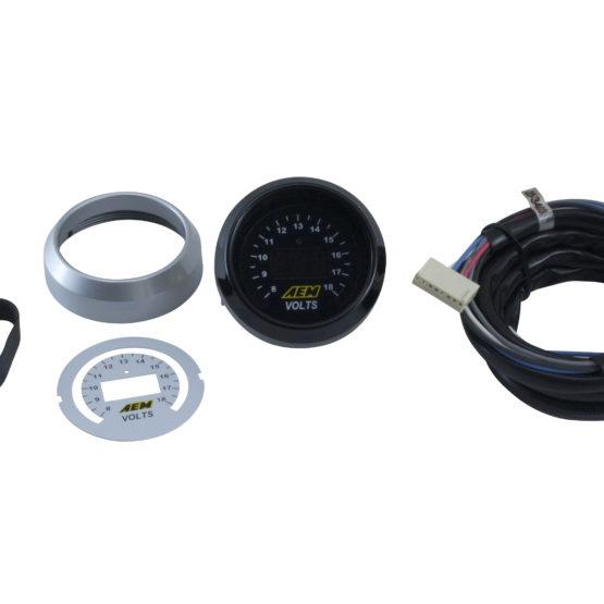 AEM aem30-0313 for X-Series 0-160 MPH Black Bezel w// Black Face GPS