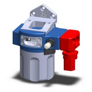 Optional Pressure and Temperature Sensor Block
