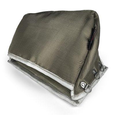 Turbomotiv Full-Race T4 EWG Turbo Manifold Heat Shield Mitsubishi EVO X